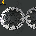 motorcycle accessories Front Brake Disc Rotor For KAWASAKI ZZR 1400 A6F-A7F,C8F-C9F ZX1400A/C 2006 2007 2008 2009