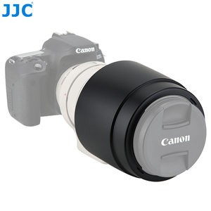 Image 2 - JJC DSLR 카메라 렌즈 후드 그늘 보호대 캐논 EF 100 400mm f/4.5 5.6L IS USM 렌즈 교체 캐논 ET 83C