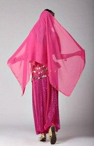 Image 5 - Damskie dziewczyny Halloween na imprezę Cosplay taniec brzucha Aladdin księżniczka Jasmine kostium dla dorosłych moda kostiumy dla kobiet 6 kolorów