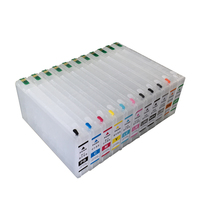 4900 Recycling ink cartridges empty for Epson 4900 large format printer with auto reset chips on high quality