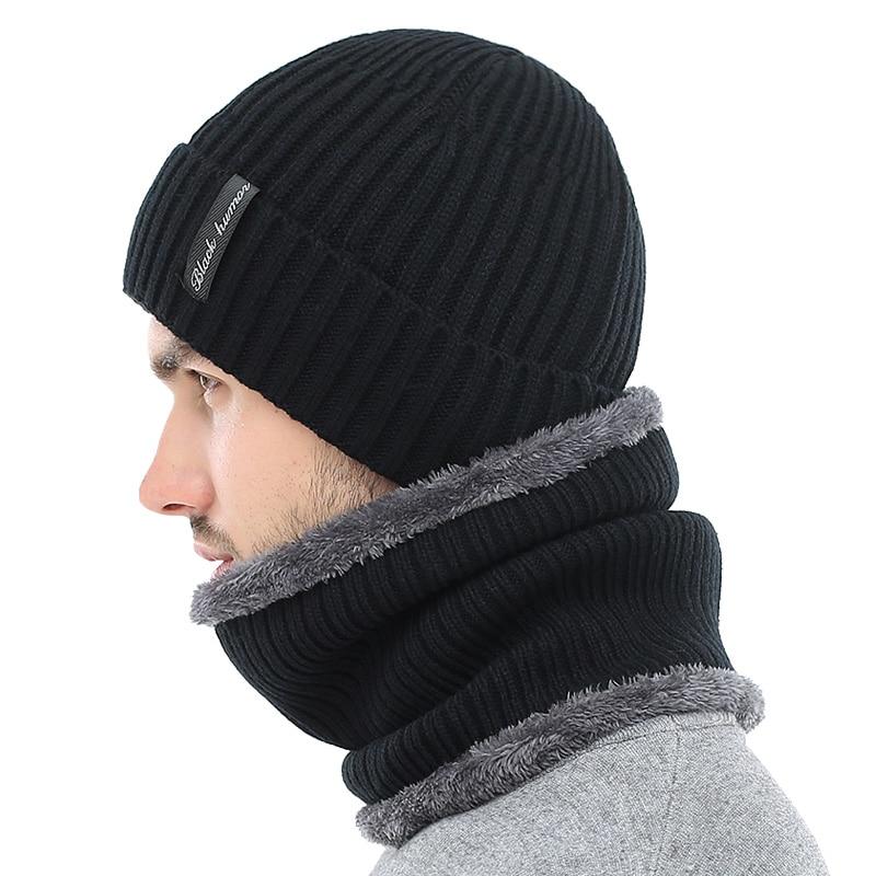 AETRUE Winter Beanies Men Knitted Hat Caps Beany Mask Gorras Bonnet Warm Baggy Winter Hats For Men Women Skullies Beanies Hats 2
