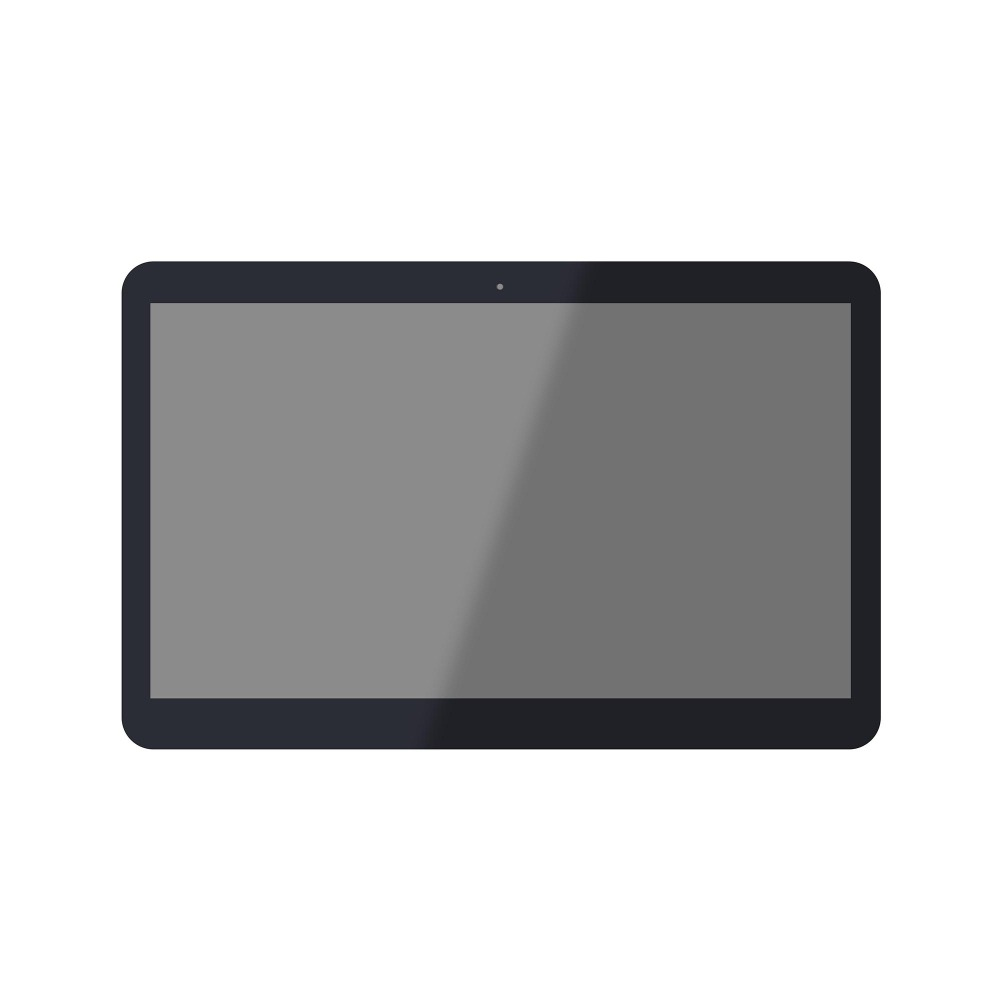 For ASUS Notebook UX360C FP-ST133SI000AKM-01X Front Touch Screen Digitizer Glass +LCD Assembly 13 3 inch lcd display screen for asus zenbook ux360ca ux360c lcd screen touch digitizer assembly b133han02 7 and only touch