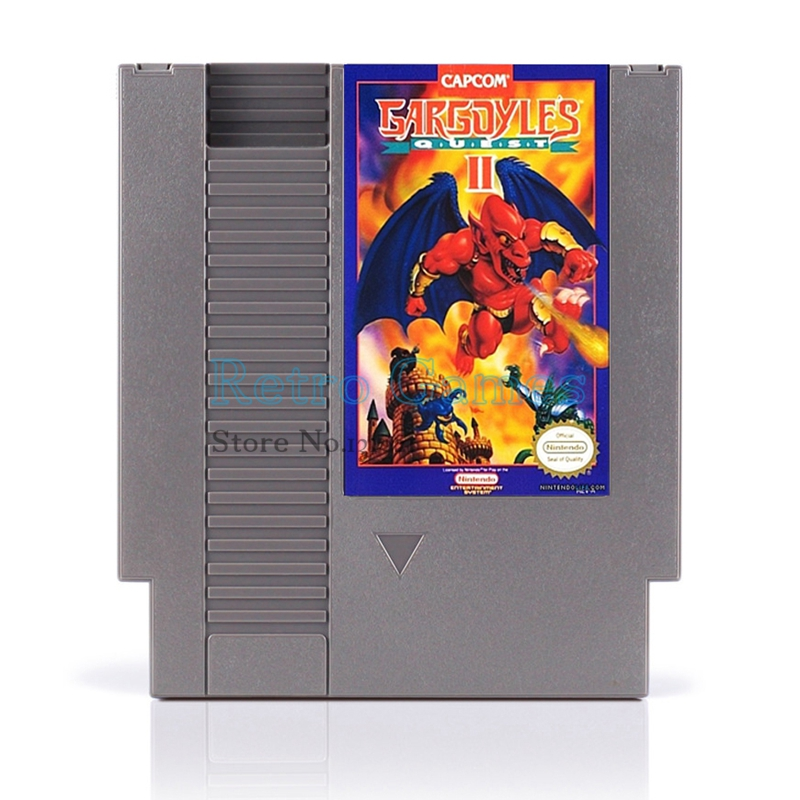 Gargoyle s Quest II Game Card For 72 Pin 8 Bit Game Player