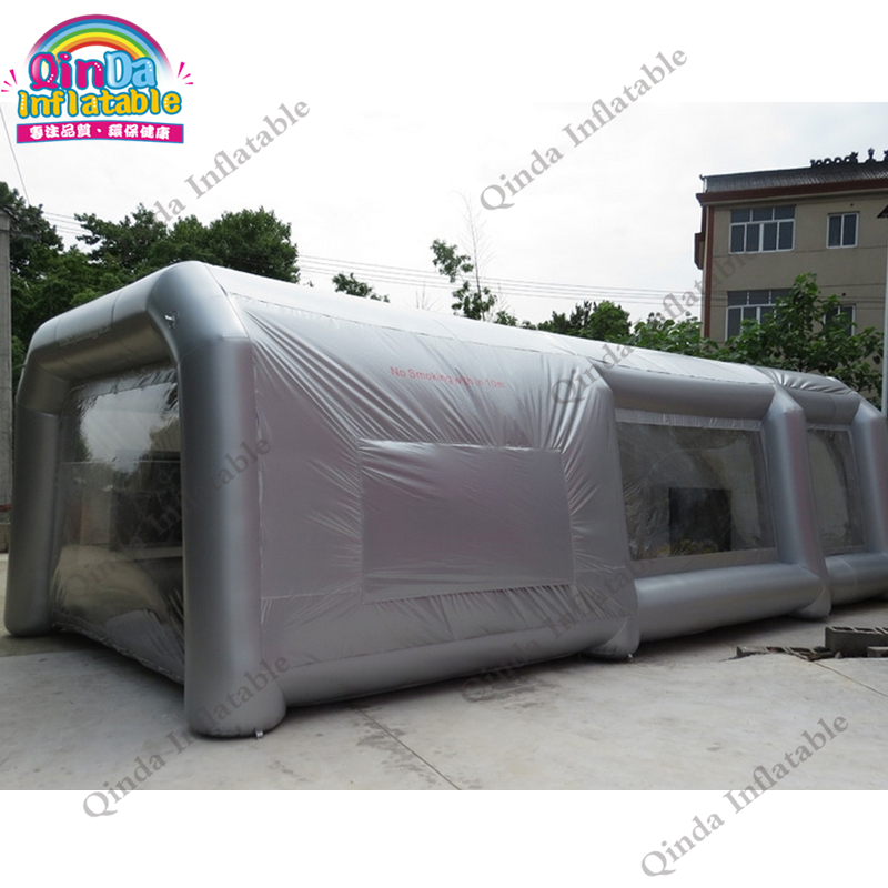 9*4*3M Portable Waterproof Inflatable Spray Booth, Inflatable Car Paint Booth Tent With Filter System netdog porn filter 3 9