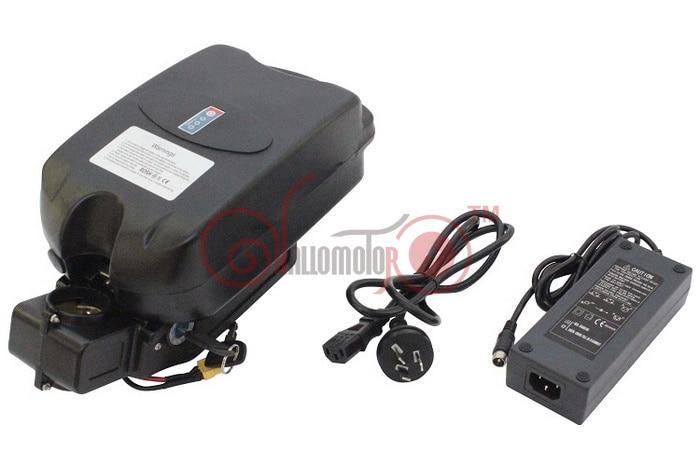 Wholesale Price Ebike Lithium Battery P29PF-F-24V Monomer 17.4Ah Seat Post Li-ion Battery Black Case Polymer Battery