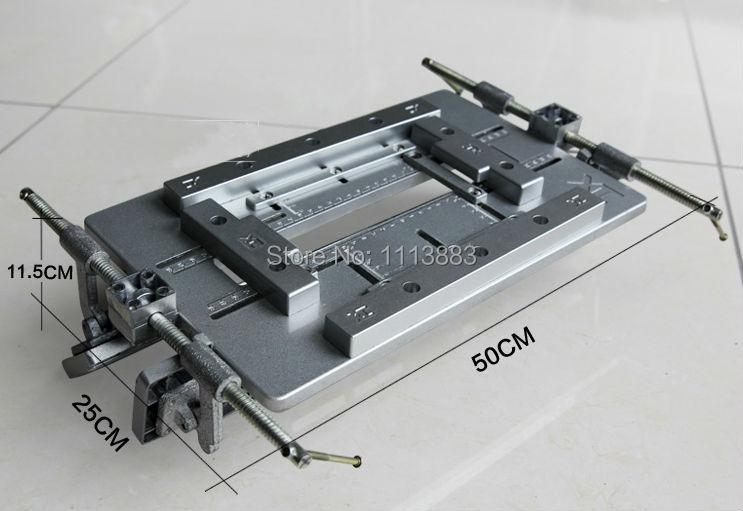 De Alumínio Da Dobradiça Da Porta ajustável Modelo de Gabarito, Modelo de alocação para Router