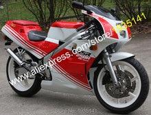 Hot Sales,For Honda NSR250R MC18 Motorbike Parts NSR 250 R 1989 NSR250 R MC18 89 Red White ABS Bodyworks Motorcycle Fairing