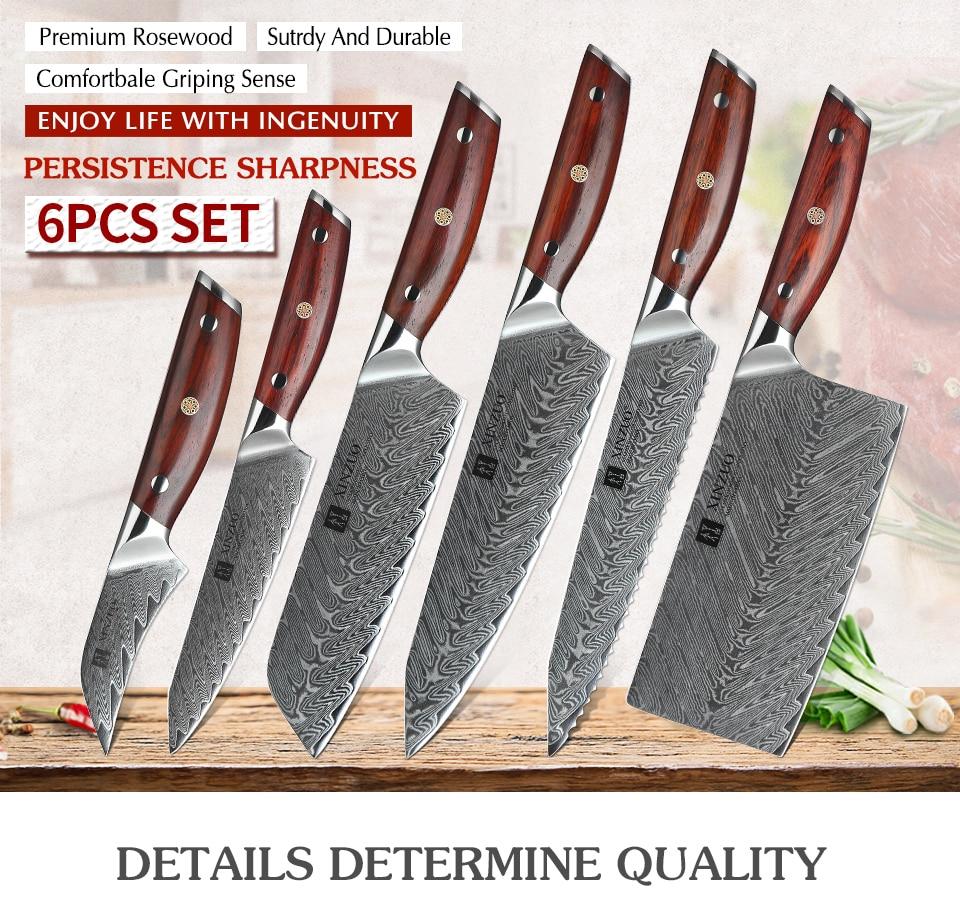 Delmonicos Kitchen Knife Set All About Kitchen Set