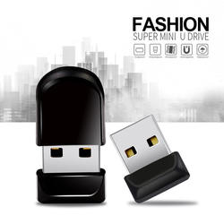 Горячая Супер мини-usb флеш-накопитель 64 Гб 128 ГБ USB 2,0 Крошечный водостойкий флеш-накопитель 32 ГБ 16 ГБ 8 ГБ флеш-карта памяти USB