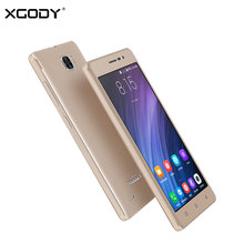 Origional XGODY X17 Pro 4G LTE Mobile Phone Android 6.0 Quad Core 1G+16G Smartphone 5.0 Inch IPS 1280*720 Cellphone Touch Phone