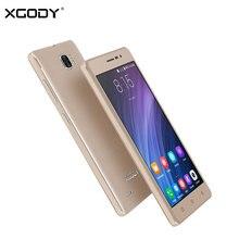 D'origine XGODY X17 Pro 4G LTE Mobile Téléphone Android 6.0 Quad Core 1G + 16G Smartphone 5.0 Pouce IPS 1280*720 Téléphone Portable Tactile téléphone