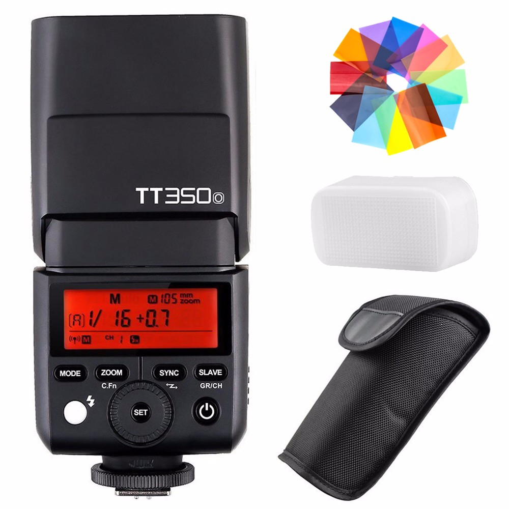 Здесь продается  Godox TT350O 2.4G HSS 1/8000s TTL GN36 Camera Flash Speedlite for Olympus / Panasonic Mirrorless Digital Camera+Filters+Diffuser  Бытовая электроника