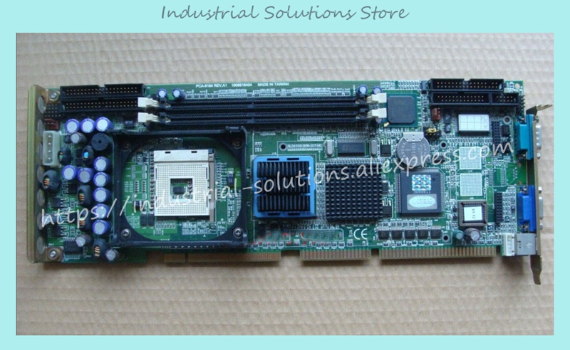 PCA-6184V REV.A1 industrial motherboard 100% tested perfect quality industrial floor picmg1 0 13 slot pca 6113p4r 0c2e 610 computer case 100% tested perfect quality