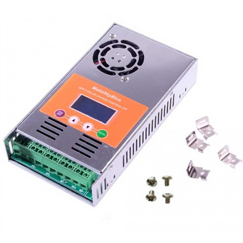 Solar Charge Controller MPPT 30A 40A 50A 60A for 12V 24V 48V VDC Solar Battery Panel Regulator 30A 40A 50A 60A