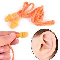 Les bouchons d'oreilles Anti-ronflement apportent un bon sommeil pour les hommes et les femmes bouchons d'oreilles professionnels à réduction de bruit avec ligne