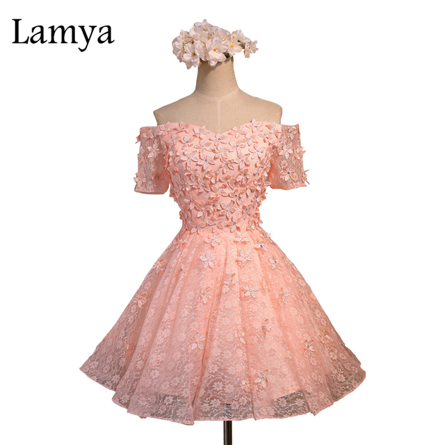 Lamya Flores Preciosas Pink Ball Gown Lace Up Volver Sweetheart ...