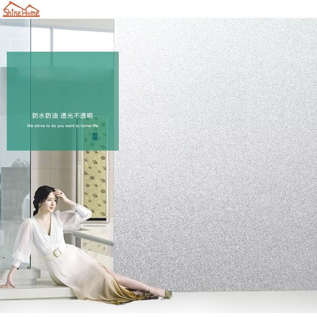 200cm Modern Bathroom Office Glass Door Sticker Privacy Vinyl