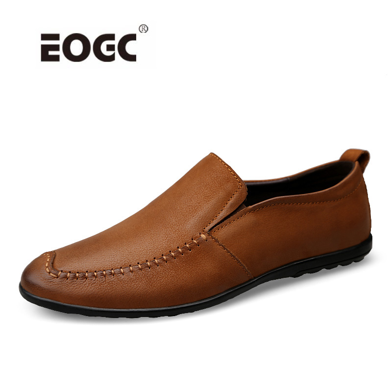 High Quality Natral Leather Men Shoes Soft Moccasins Men Loafers Fashion Men Flats Breathable Driving Shoes genuine leather shoes men top quality driving flats shoes soft leather men shoes loafers moccasins breathable zapatos hombre