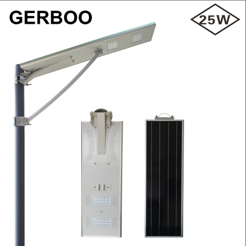 High Power Outdoor LED Solar Street Light 25 Watt LED