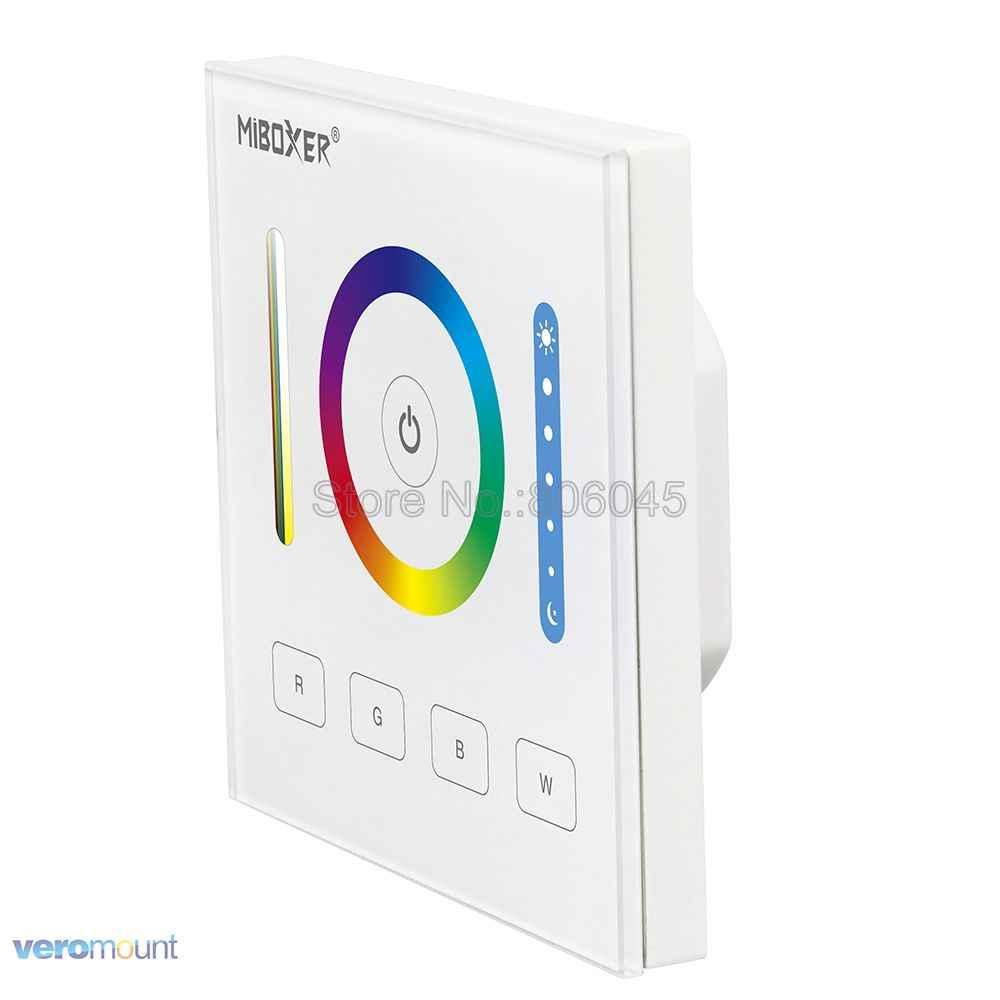 MiBOXER DALI 86 Touch Panel RGB RGBW RGB + CCT 3 em 1 DP3 Inteligente LEVOU Controlador para RGB RGBW RGBCCT Tira CONDUZIDA