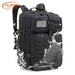YUETOR OUTDOOR Sports Molle Military Tactical Backpack Large Capacity Camping Hiking Backpacks Hunting Army Bag for Men