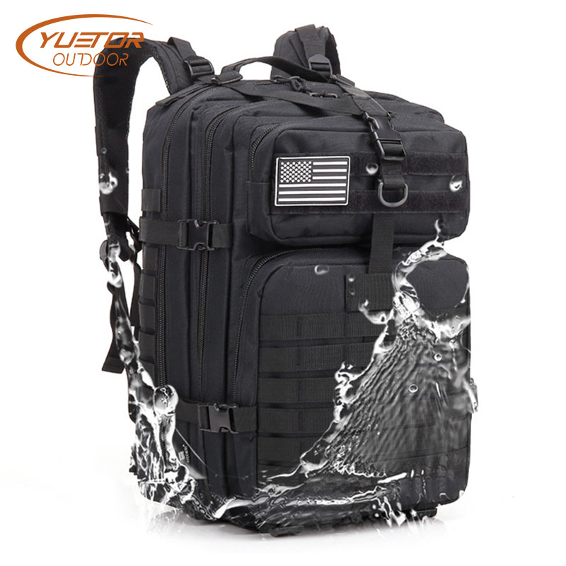 YUETOR OUTDOOR Sports Molle Military Tactical Backpack Large