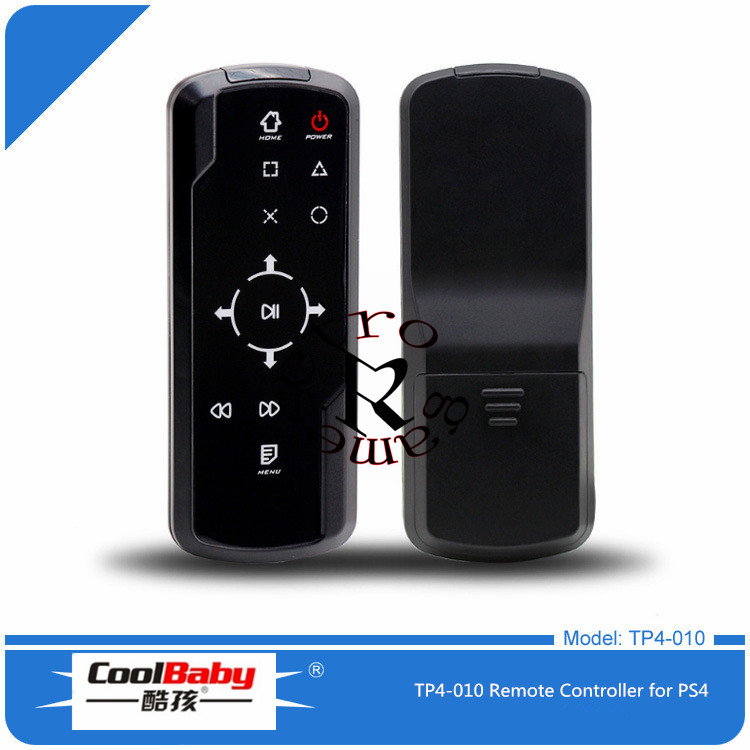 2.4G Wireless Bluetooth 3.0 Game Media Remote Control for Playstation 4 for PS4 Blueray DVD Remote Controller