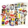 Estilo divertido stickers mix adultos cartoon decal frigorífico doodle de equipaje decoración marca de snowboard coche moto moto juguetes ct-sp02