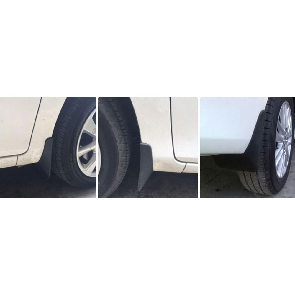 how to fit toyota yaris mud flaps