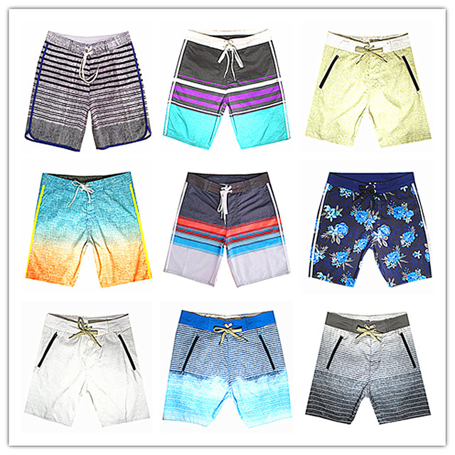 52ace5a8f 2019 Nova Marca Designer de Moda Fantasma Praia Board Shorts Swimwear Homens  100% Homem Boardshort