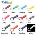1000 unids/pack guantes coloridos gancho hebillas de plástico gancho a presión con anillo O utilizado para cortinas de ducha