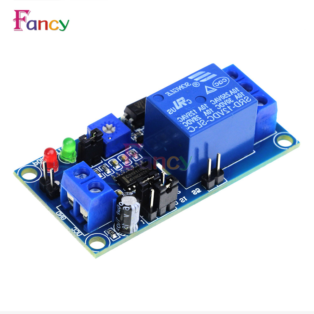 1pcs Delay Relay Delay Turn on / Delay Turn Off Switch Module with Timer DC 12V dc 12v delay relay delay turn on delay turn off switch module with timer mar15 0