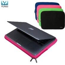 "Transportable Laptop computer Zipper Comfortable Case Bag Cowl Sleeve Pouch For Apple 11""/13"" Macbooks Professional/Air New Pocket book 4Color Cowl Case bag"