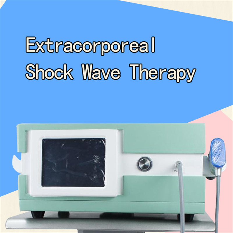 Physical Pain Therapy System 8 Bar Infinite Shots Acoustic Shock Wave Extracorporeal Shockwave Machine For Pain Relief Reliever