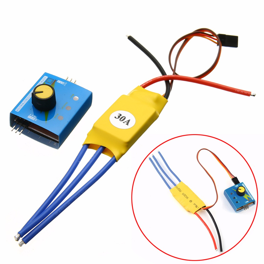30A 12V DC 3-phase Brushless Motor Speed Controller High-Power Regulator PWM Control bgektoth high power brushless motor speed controller dc 3 phase regulator pwm dc12v 30a 1a60492