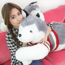 1pcs 4# size 85cm Littlecucu sweater husky plush dog best gifts for girlfriend Birthday valentine's day gifts wholesale