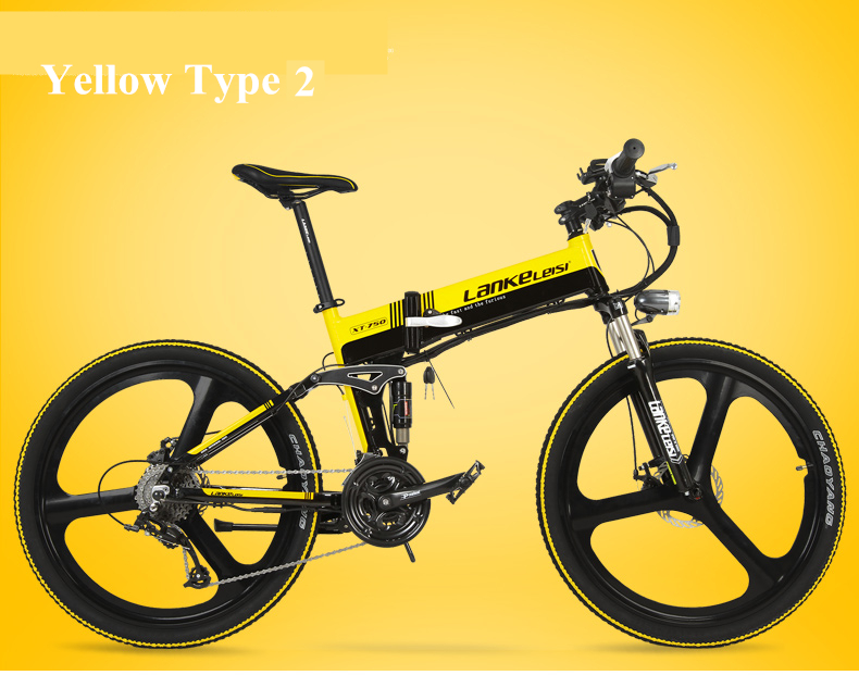 "HTB1hbgIewoQMeJjy0Fnq6z8gFXat - XT750D 27 Velocity 500W Tremendous Energy Excessive High quality 26"" Foldable Electrical Bicycle, 36V/48V Hidden Lithium Battery Mountain Bike MTB"