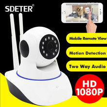 SDETER 1080P Full HD 2MP Wireless CCTV IP Camera-Wifi Home Security Surveillance Camera Baby Monitor Motion Detection Alarm Wifi