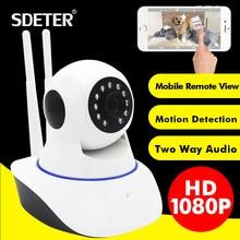 SDETER 1080P Full HD 2MP Wireless CCTV IP Camera Wifi Home Security Surveillance Camera Baby Monitor