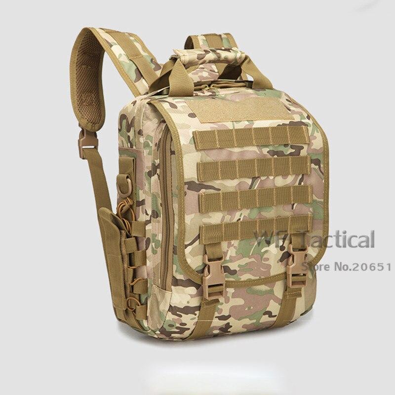 Sac à dos pour ordinateur portable militaire tactique hommes bandoulière sacs de voyage sport Molle Camping sacs à dos sac d'école étanche sac à main