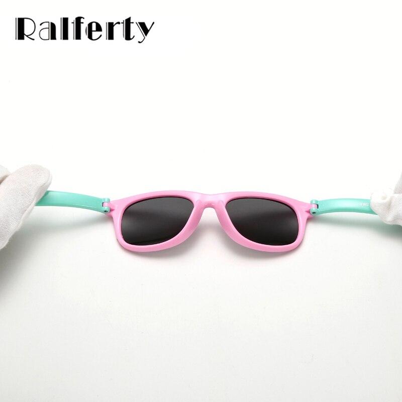 Ralferty TR90 Flexibele Kinder zonnebril Polarized Kind - Kledingaccessoires - Foto 4