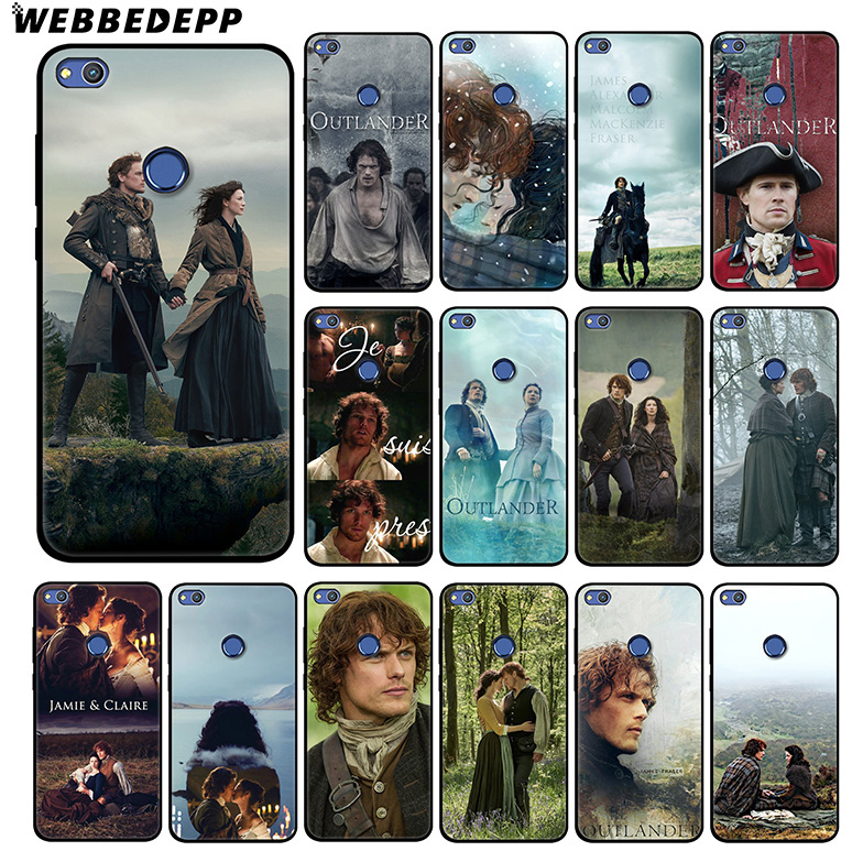 WEBBEDEPP Outlander Tv Shows Soft Case For Huawei P20 Pro P10 P9 P8 Lite 2015 2017 P Smart 2019 & Nova 3 3i Y7 Y9 2018 image