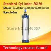 SC standard cylinder SC160*350/400/450/500/600/700/800/900/1000 BORE 160MM Standard Pneumatic Air Cylinder