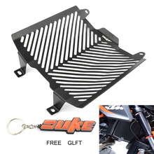 Motorcycle Aluminum Radiator Grill Guard Protection Oil Cooler Cover Fit For KTM 690 Duke 2012 2013 2014 2015 2016 2017 2018