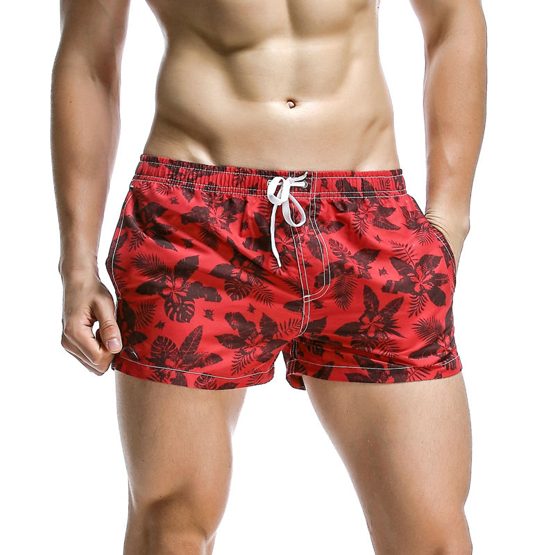Hot Sale Men's Printed   Board     Shorts   Man Beach Pants Quick Dry Surfing   Shorts   Man Loose Swim Trunks Maldive Swimming   Short   XL