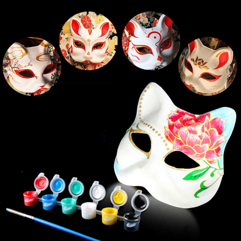 Popular Diy Halloween Mask-Buy Cheap Diy Halloween Mask lots from ...