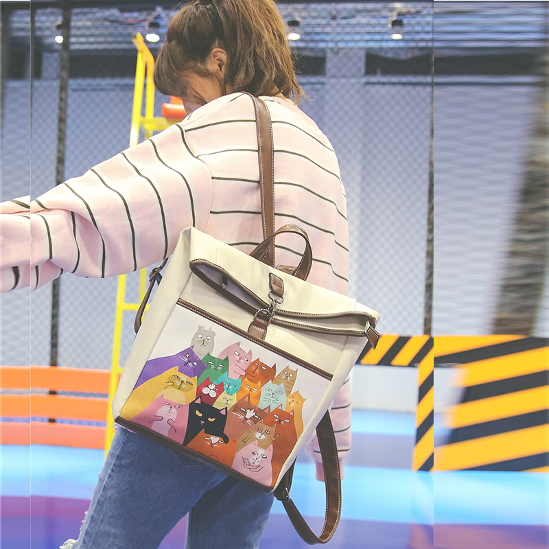 Bags For Women 2017 Satchels Shoulder Bags Vintage Leather Feminine Backpack Youth Preppy Students Backpack For