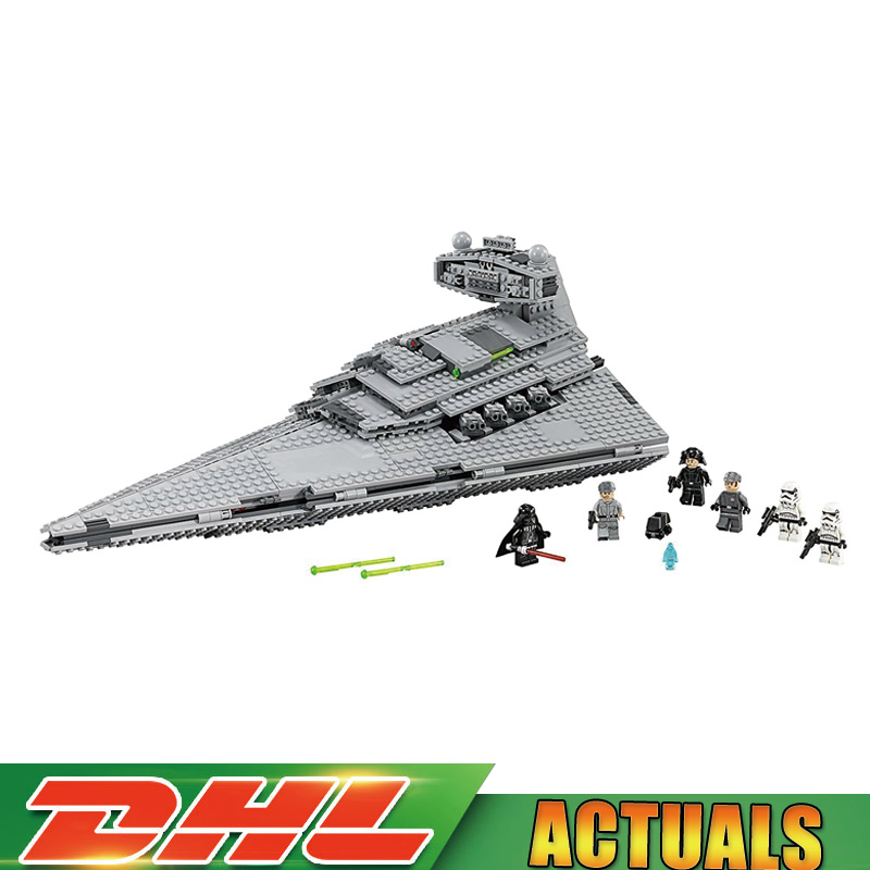 Lepin 05062 1359pcs Star Series War The Imperial Super Star Destroyer Set Building Blocks Bricks Compatible legoinglys 75055 super star 3
