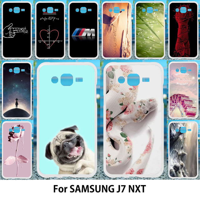 san francisco fe3f0 f8c9a US $1.68 15% OFF|TAOYUNXI J7 Nxt Case For samsung j7 core galaxy j7 neo  Cases Silicone TPU Cover J701F/DS J701M Painting Cute Animals Patterned-in  ...