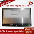Gread a + b116xat03.1 para acer aspire p3-171 p3 171 pantalla lcd con pantalla táctil digitalizador pantalla sensor de montaje completo
